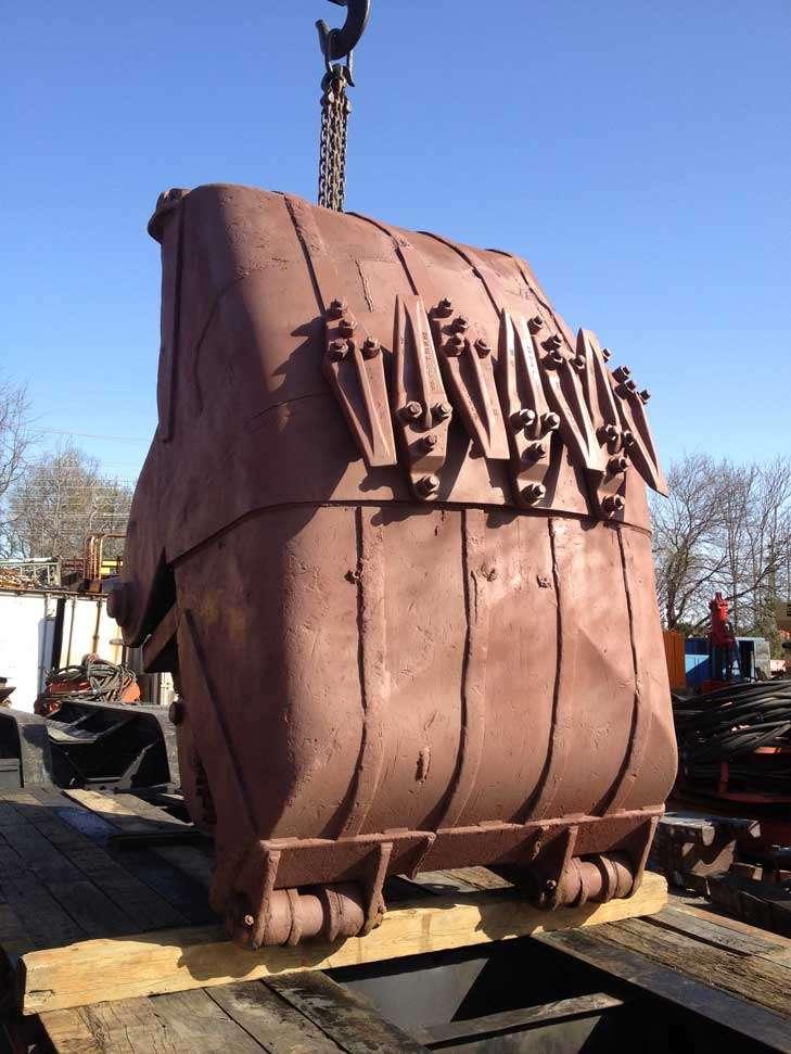 Erie 4 Yard Clamshell Bucket