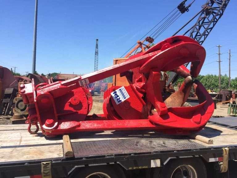 McGinnes 30 Ton Crane Rock Grapple