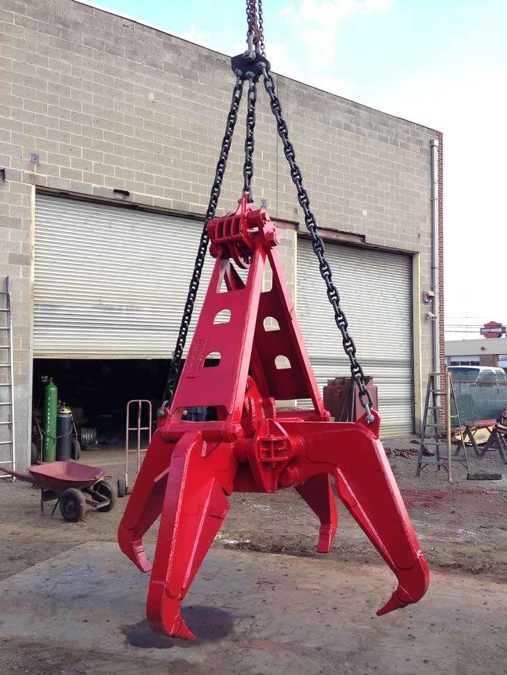 Owen RA-65 7 Ton Crane Rock Grapple