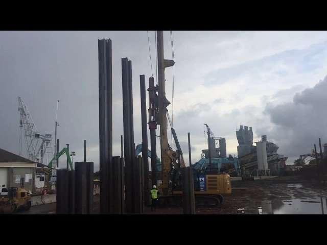 Excavator Mounted Pile Driver thumbnail
