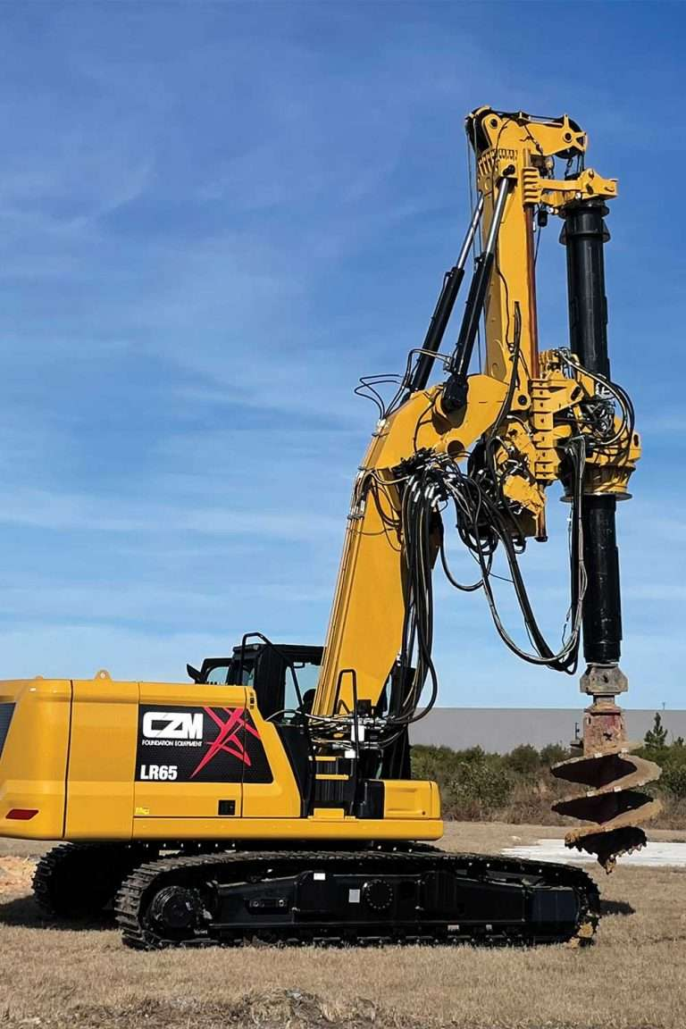 CZM LR65 Drilling Rig